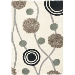 Soho Ivory & Grey Area Rug