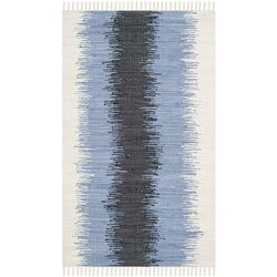 Montauk Grey / Black Contemporary Rug