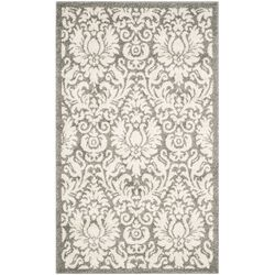 Amherst Dark Grey/Beige Area Rug