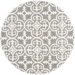Chatham Dark Grey / Ivory Contemporary Rug by Safavieh