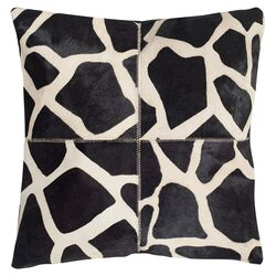 Antonio Cow Hide Throw Pillow