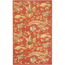 Blossom Rust/Multi Area Rug