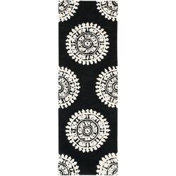 Soho Black & Ivory Area Rug