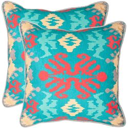 Rye Polyester Decorative Pillow