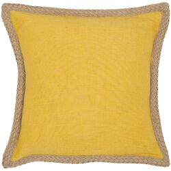 Sweet Sorona Jute Fiber Decorative Throw Pillow