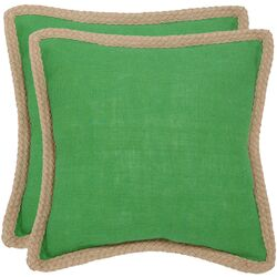 Sweet Sorona Jute Fiber Decorative Pillow