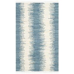 Montauk Blue Abstract Rug