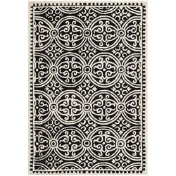Cambridge Black/Ivory Area Rug