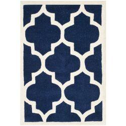 Chatham Dark Blue & Ivory Moroccan Rug