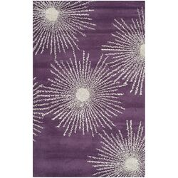 Soho Purple / Ivory Rug