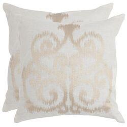 Harper Linen Decorative Throw Pillow