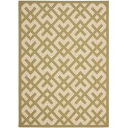 Courtyard Beige / Green Outdoor Rug