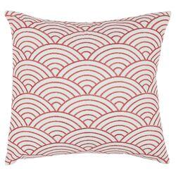 Dina Scallop Cotton Throw Pillow