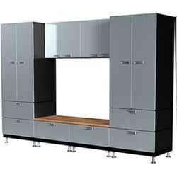 Lockers and Bench Set S72
