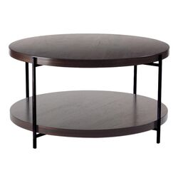 Martini Coffee Table with Shelves by TFG