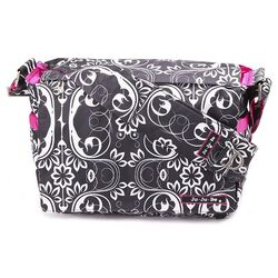 Be All Messenger Diaper Bag in Shadow Waltz