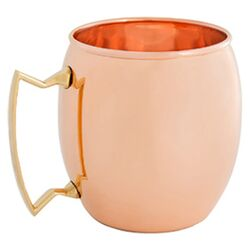 16 Oz. Solid Copper Moscow Mule Mug