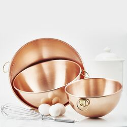 3 Piece Copper Beating Bowl Set