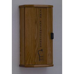 Fire Extinguisher Cabinet with Engraved Door Panel