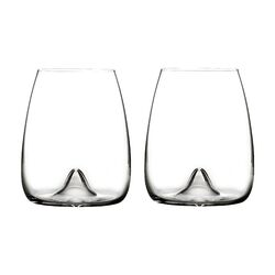 Elegance Stemless Wine Glass