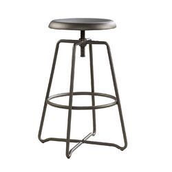 Cannery Bridge Adjustable Height Swivel Bar Stool