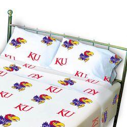NCAA Kansas Pillowcase