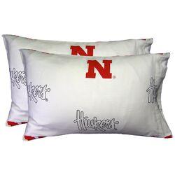 NCAA Nebraska Pillowcase