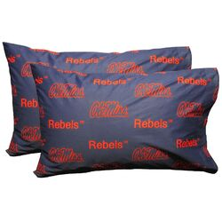 NCAA Mississippi Pillowcase