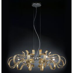 Metal Lux Onda 6 Light Pendant