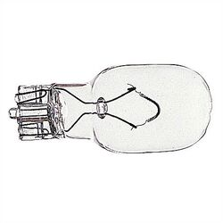 18W Clear Incandescent Wedge Base Light Bulb