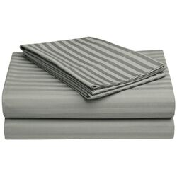 650 Thread Count Egyptian Cotton Olympic Queen Stripe Sheet Set