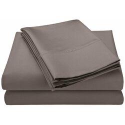 Cotton Rich 600 TC Solid Sheet Set