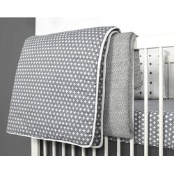 Nordic Cross 3 Piece Crib Bedding Set
