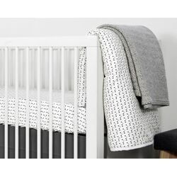 Mini Triangle 3 Piece Crib Bedding Set