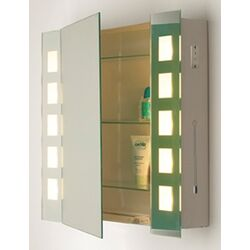 Dar Lighting Zenia Mirrored Cabinet Light