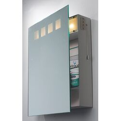 Dar Lighting Zeus Image Cabinet with Shaver Socket