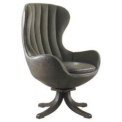Linford Swivel Arm Chair