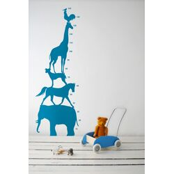Animal Tower Kids Wall Sticker