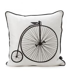 Velo Silk Pillow in Black