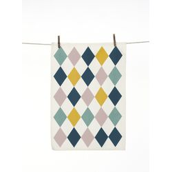Harlequin Tea Towel
