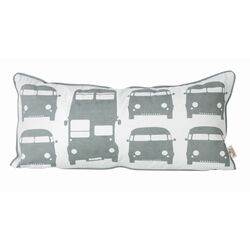 Kids Rush Hour Organic Cotton Pillow