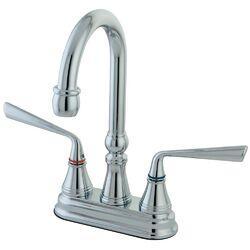 Silver Sage Double Handle Centerset Bar Faucet