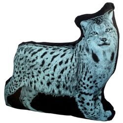 Mini Organic Cotton Lynx Cushion