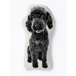 Mini Organic Cotton Poodle Cushion