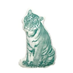 Organic Cotton Tiger Pillow