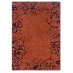 Trio Orange/Black Rug