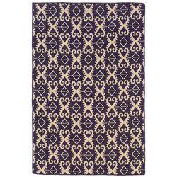 Salonika Purple Ikat Rug