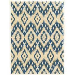 Trio Blue/Ivory Rug