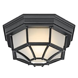 Outdoor Flush Mount in Black