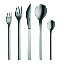 mono-Mono-A Edition 50 Collection, 5-Piece Set in Black by Peter Raacke